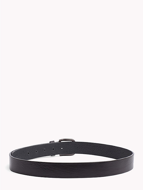 TOMMY JEANS Tommy Jeans Flag Belt - BLACK - TOMMY JEANS Belts - detail image 1