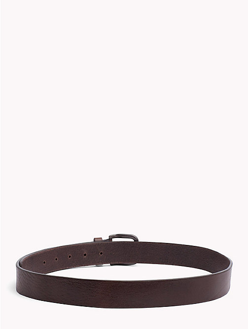 TOMMY JEANS Tommy Jeans Flag Belt - TESTA DI MORO - TOMMY JEANS Belts - detail image 1