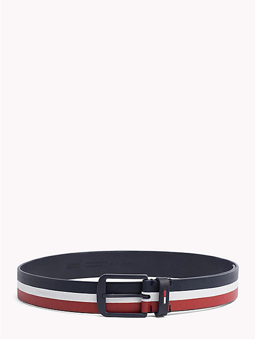 TOMMY JEANS Modern Buckle Leather Belt - CORPORATE - TOMMY JEANS Shoes & Accessories - main image