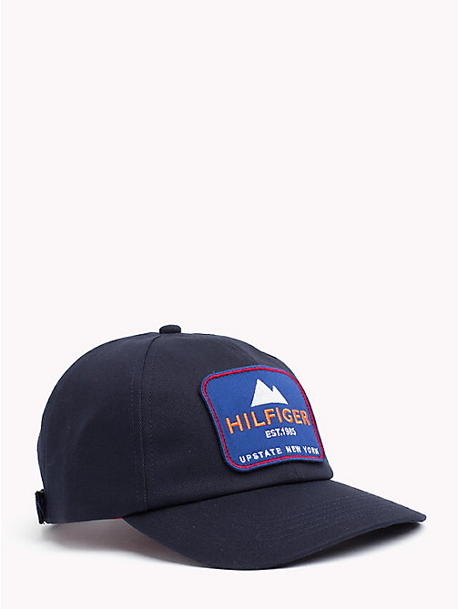 TOMMY HILFIGER Badge Baseball Cap - TOMMY NAVY -  Winter Warmers - main image