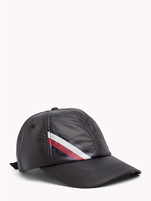 TOMMY HILFIGER Signature Baseball Cap - BLACK - TOMMY HILFIGER Hats - main image