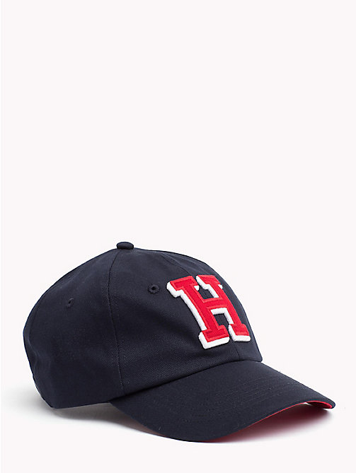 TOMMY HILFIGER Monogram Cap - TOMMY NAVY - TOMMY HILFIGER NEW IN - main image