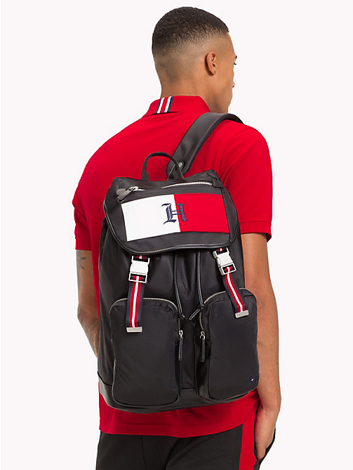 TOMMY HILFIGER Lewis Hamilton Backpack - BLACK - TOMMY HILFIGER Bags & Accessories - detail image 1