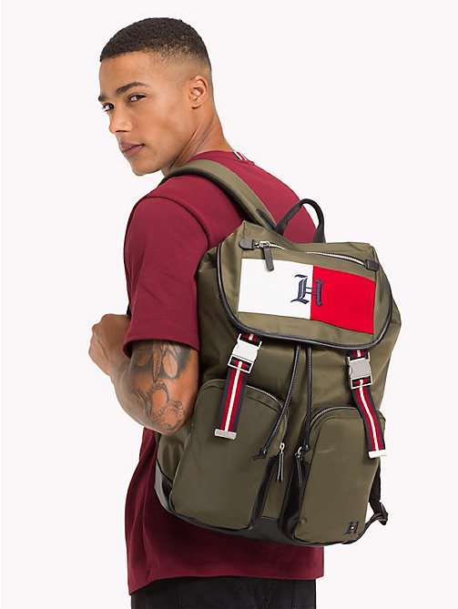 TOMMY HILFIGER Lewis Hamilton Backpack - MILITARY OLIVE - TOMMY HILFIGER Bags & Accessories - detail image 1