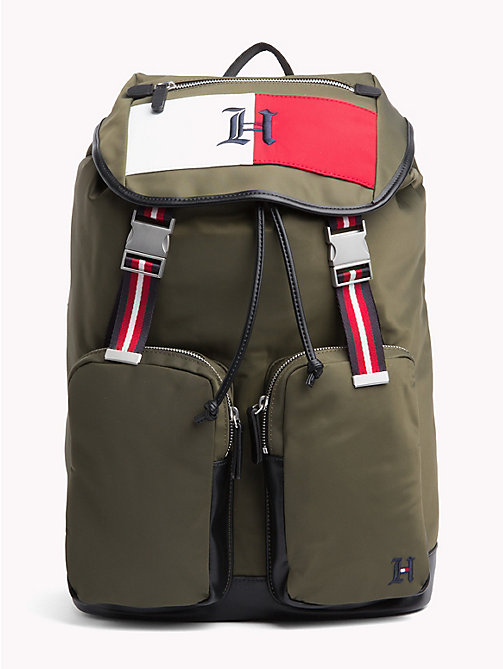 TOMMY HILFIGER Lewis Hamilton Backpack - MILITARY OLIVE - TOMMY HILFIGER Bags & Accessories - main image