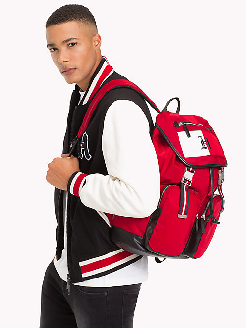 TOMMY HILFIGER Lewis Hamilton Backpack - TOMMY RED -  TOMMYXLEWIS - detail image 1