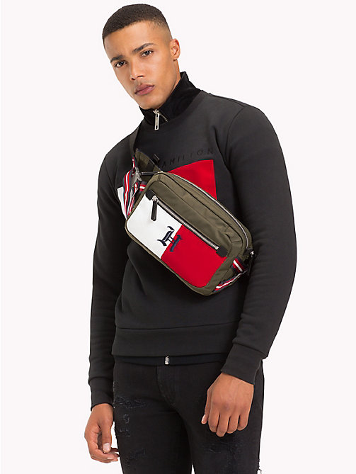 TOMMY HILFIGER Lewis Hamilton Fanny Pack - MILITARY OLIVE - TOMMY HILFIGER TOMMY NOW MEN - detail image 1