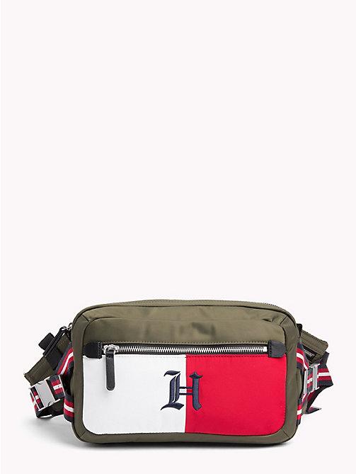 TOMMY HILFIGER Lewis Hamilton Fanny Pack - MILITARY OLIVE - TOMMY HILFIGER TOMMY NOW MEN - main image