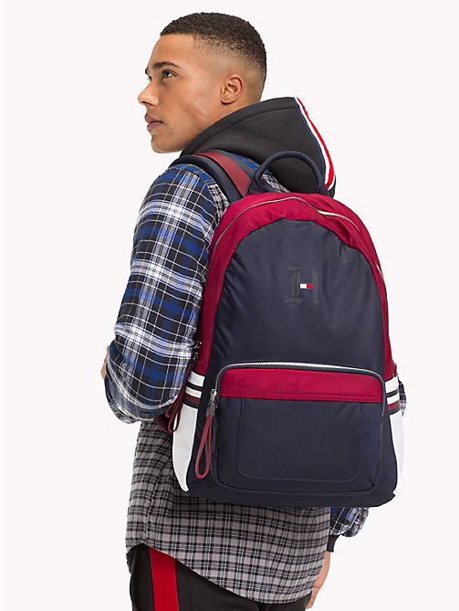 TOMMY HILFIGER Lewis Hamilton Sport Backpack - BLUE MIX - TOMMY HILFIGER TOMMY NOW MEN - detail image 1