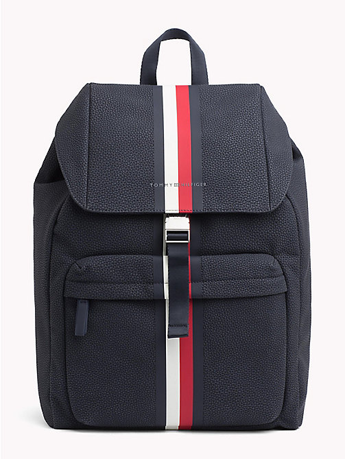 TOMMY HILFIGER Tommy Tape Backpack - TOMMY NAVY - TOMMY HILFIGER What to wear - main image