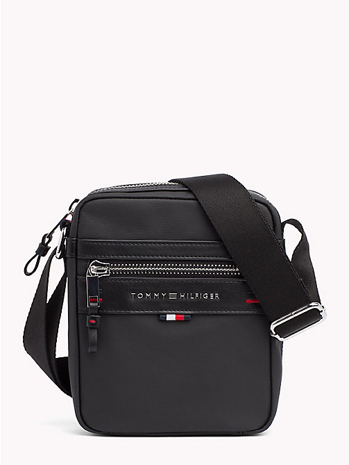 TOMMY HILFIGER Elevated Crossover Reporter Bag - BLACK - TOMMY HILFIGER Crossbody Bags - main image