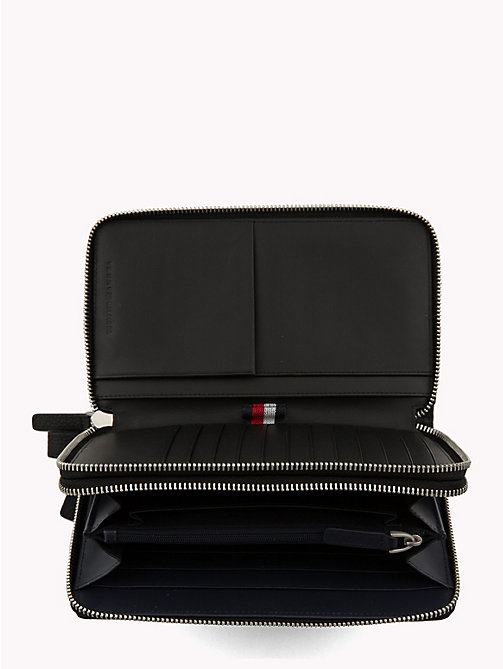 TOMMY HILFIGER Plaque Organiser Wallet - BLACK - TOMMY HILFIGER Wallets & Keyrings - detail image 1