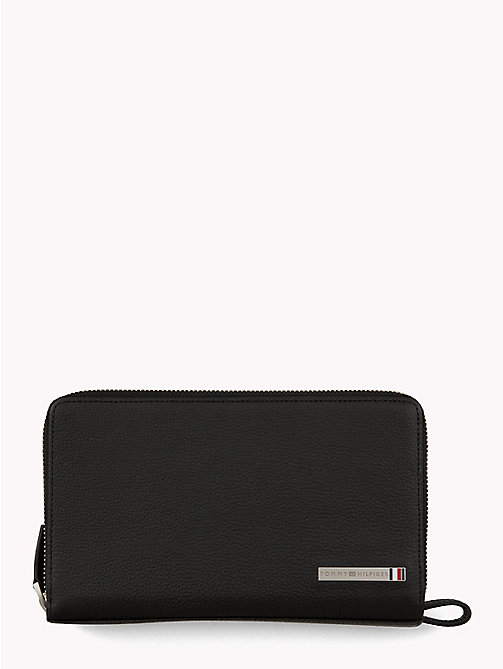 TOMMY HILFIGER Plaque Organiser Wallet - BLACK - TOMMY HILFIGER Wallets & Keyrings - main image