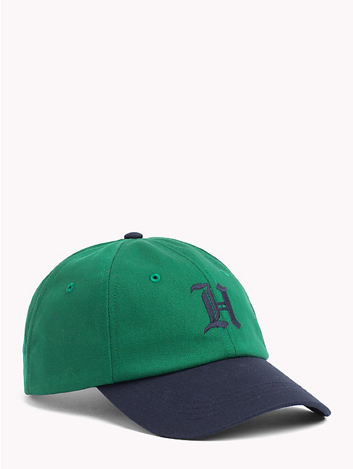 TOMMY HILFIGER Lewis Hamilton Baseball Cap - ULTRAMARINE GREEN - TOMMY HILFIGER TOMMY NOW MEN - main image