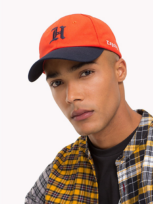 TOMMY HILFIGER Lewis Hamilton Baseball Cap - ORANGE POPSICLE - TOMMY HILFIGER Bags & Accessories - detail image 1