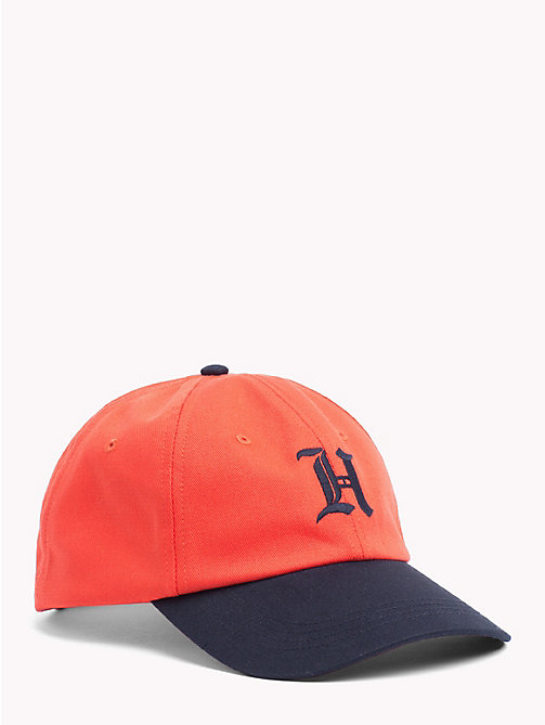 TOMMY HILFIGER Lewis Hamilton Baseball Cap - ORANGE POPSICLE - TOMMY HILFIGER Bags & Accessories - main image