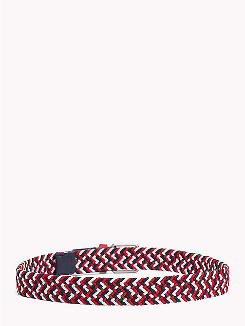 TOMMY HILFIGER Kids' Braided Belt - RWB - TOMMY HILFIGER Shoes & Accessories - detail image 1