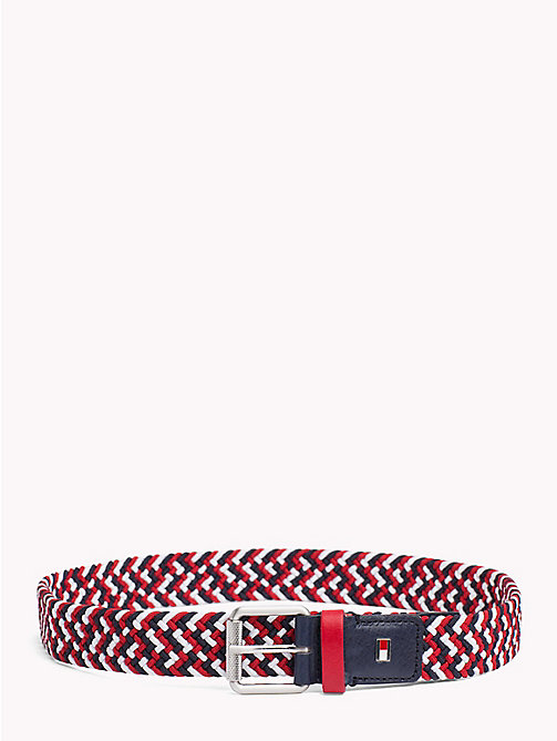 TOMMY HILFIGER Kids' Braided Belt - RWB - TOMMY HILFIGER Shoes & Accessories - main image