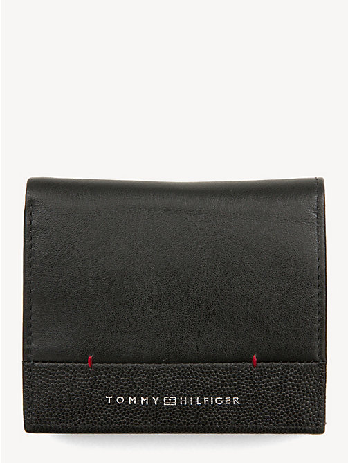 TOMMY HILFIGER TH Business Trifold Wallet - BLACK - TOMMY HILFIGER NEW IN - main image