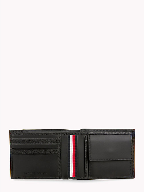 TOMMY HILFIGER TH Business Leather Wallet - BLACK - TOMMY HILFIGER Wallets & Keyrings - detail image 1