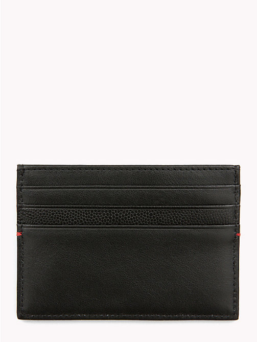 TOMMY HILFIGER TH Business Card Holder - BLACK - TOMMY HILFIGER NEW IN - detail image 1
