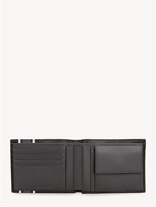 TOMMY HILFIGER TH Stripe Logo Wallet - BLACK - TOMMY HILFIGER Wallets & Keyrings - detail image 1