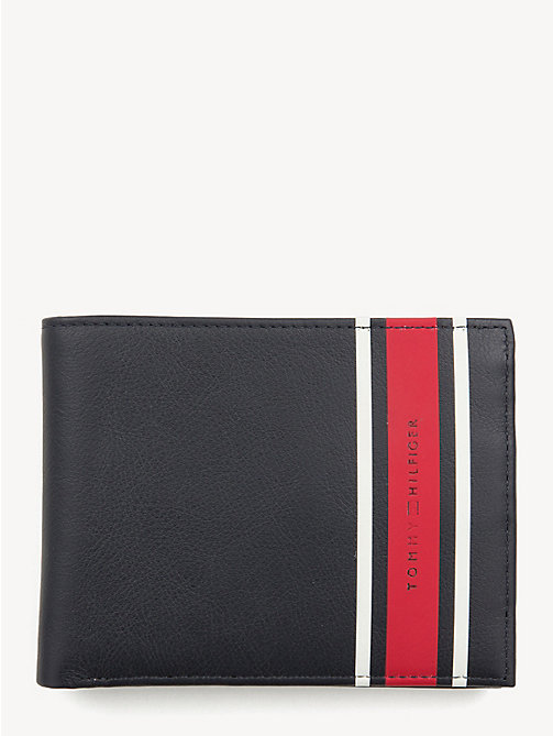 TOMMY HILFIGER TH Stripe Logo Wallet - TOMMY NAVY - TOMMY HILFIGER NEW IN - main image