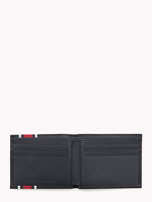 TOMMY HILFIGER TH Stripe Small Card Wallet - TOMMY NAVY - TOMMY HILFIGER Wallets & Keyrings - detail image 1