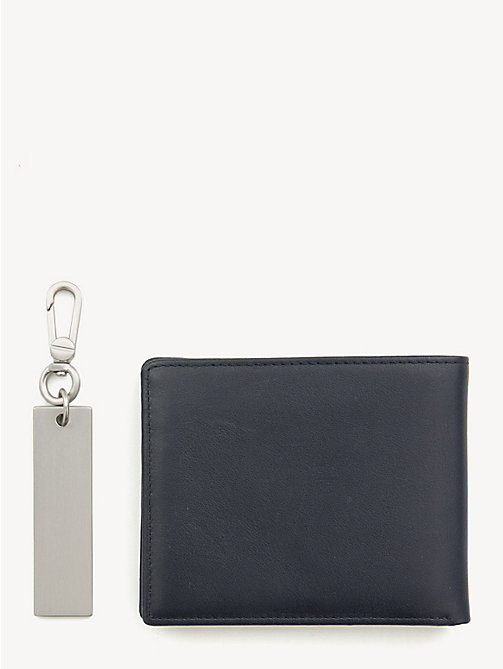 TOMMY HILFIGER TH Patch 3-in-1 Wallet, Cardholder and Key Fob Set - TOMMY NAVY - TOMMY HILFIGER NEW IN - detail image 1