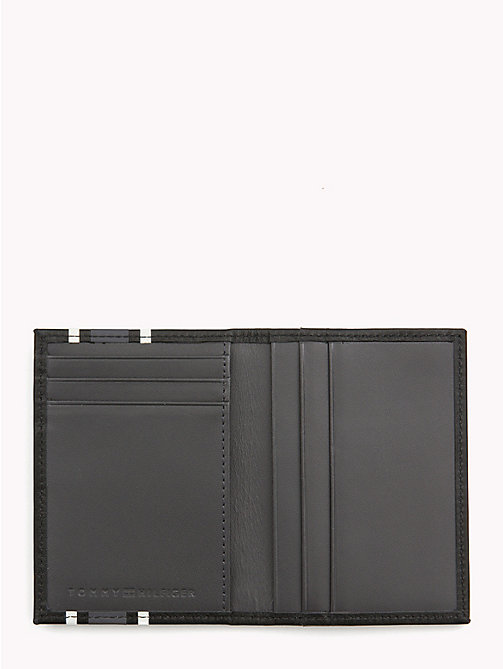 TOMMY HILFIGER TH Stripe Card Holder - BLACK - TOMMY HILFIGER NEW IN - detail image 1