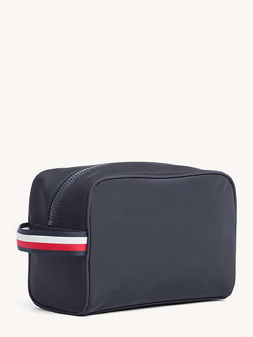 TOMMY HILFIGER Flag Patch Washbag - TOMMY NAVY - TOMMY HILFIGER Bags - detail image 1