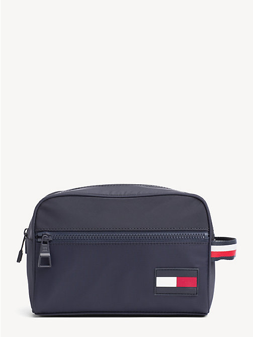 TOMMY HILFIGER Flag Patch Washbag - TOMMY NAVY - TOMMY HILFIGER Bags - main image