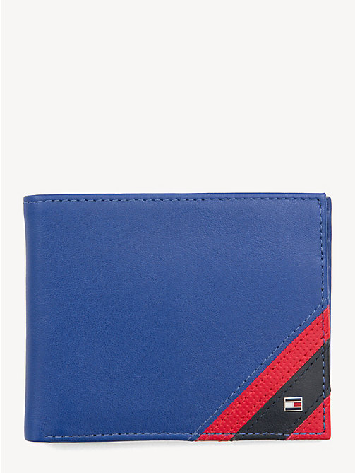 TOMMY HILFIGER Small Edge Stripe Cardholder Wallet - SURF THE WEB - TOMMY HILFIGER NEW IN - main image