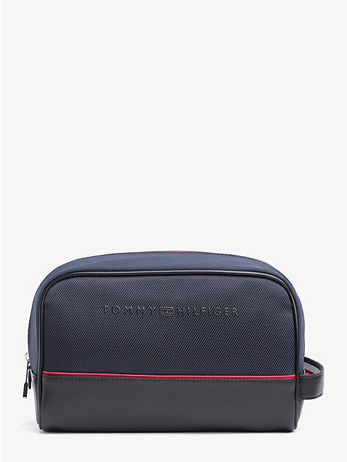 TOMMY HILFIGER Urban Washbag - TOMMY NAVY / BLACK - TOMMY HILFIGER NEW IN - main image