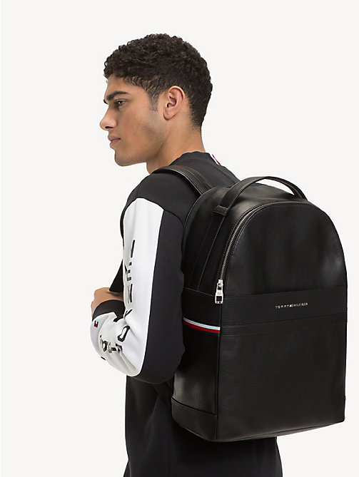 TOMMY HILFIGER TH Business Backpack - BLACK - TOMMY HILFIGER Backpacks - detail image 1