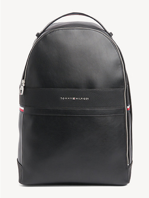 TOMMY HILFIGER TH Business Backpack - BLACK - TOMMY HILFIGER Backpacks - main image
