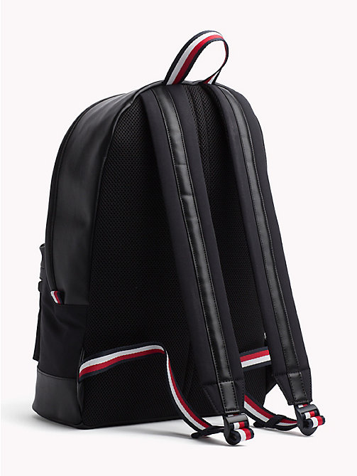 TOMMY HILFIGER Signature Tape Handle Backpack - BLACK - TOMMY HILFIGER NEW IN - detail image 1