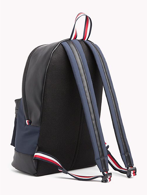 TOMMY HILFIGER Signature Tape Handle Backpack - TOMMY NAVY / BLACK - TOMMY HILFIGER NEW IN - detail image 1