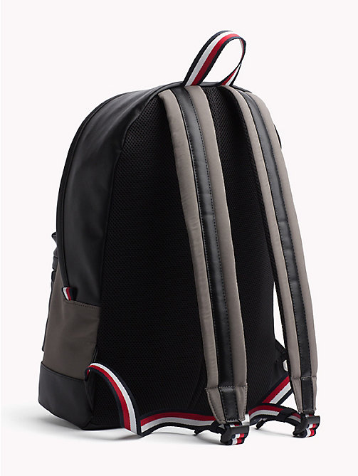 TOMMY HILFIGER Signature Tape Handle Backpack - GREY / BLACK - TOMMY HILFIGER Backpacks - detail image 1