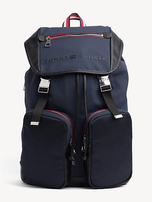 TOMMY HILFIGER Urban Utility Backpack - TOMMY NAVY / BLACK - TOMMY HILFIGER NEW IN - main image
