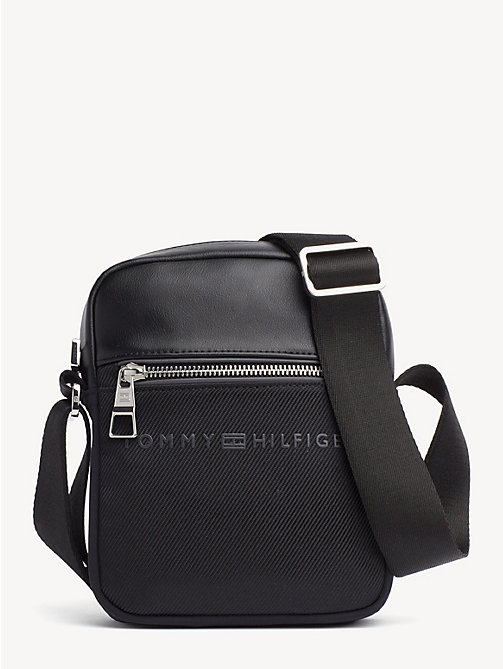 TOMMY HILFIGER Small Urban Reporter Bag - BLACK - TOMMY HILFIGER Crossbody Bags - main image
