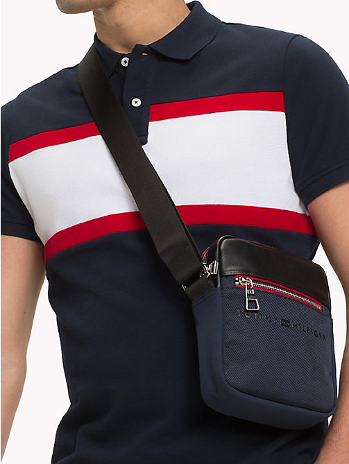 TOMMY HILFIGER Small Urban Reporter Bag - TOMMY NAVY / BLACK - TOMMY HILFIGER Crossbody Bags - detail image 1