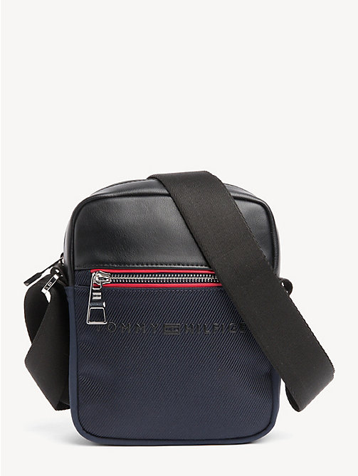 TOMMY HILFIGER Small Urban Reporter Bag - TOMMY NAVY / BLACK - TOMMY HILFIGER Crossbody Bags - main image