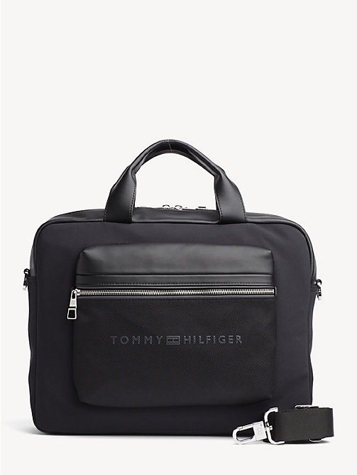 TOMMY HILFIGER Urban Laptop Bag - BLACK - TOMMY HILFIGER Laptop Bags - main image