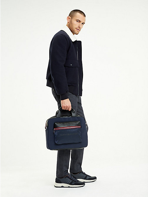 TOMMY HILFIGER Sacoche pour ordinateur portable Urban - TOMMY NAVY / BLACK - TOMMY HILFIGER Porte-documents - image détaillée 1