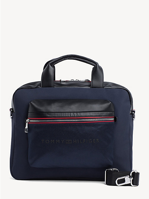 TOMMY HILFIGER Urban Laptop Bag - TOMMY NAVY / BLACK - TOMMY HILFIGER Laptop Bags - main image