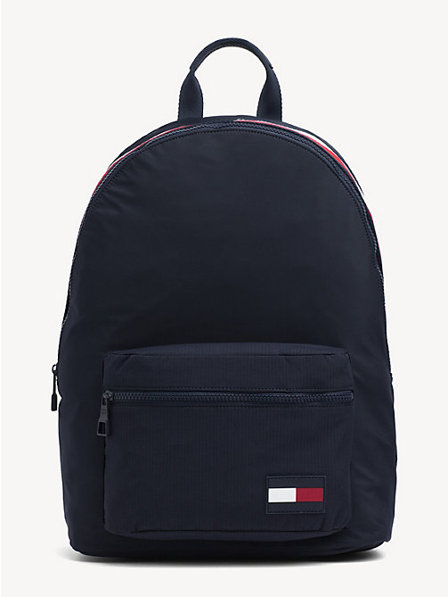 TOMMY HILFIGER Colour-Blocked Dome Backpack - TOMMY NAVY - TOMMY HILFIGER NEW IN - main image