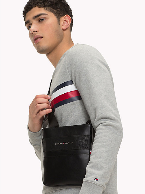 TOMMY HILFIGER TH Business Crossover Bag - BLACK - TOMMY HILFIGER NEW IN - detail image 1