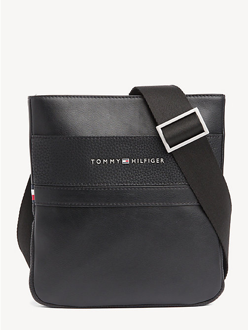 TOMMY HILFIGER TH Business Crossover Bag - BLACK - TOMMY HILFIGER Crossbody Bags - main image