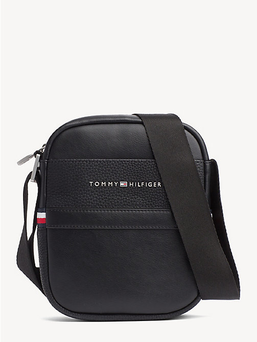TOMMY HILFIGER Small TH Business Reporter Bag - BLACK - TOMMY HILFIGER Crossbody Bags - main image